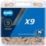 KMC X-9-L GOLD box