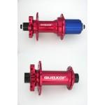 QUAXAR Náby MT01, P-QR-9 a Z-QR-5, červená 32 děr