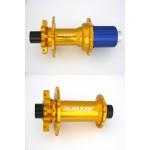 QUAXAR Náby MT01, P-QR-15 a Z-QR-12, zlatá 32 děr