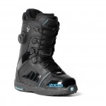 NIDECKER snb boty - Donna Hybrid Black/Shiny (BLK/SHINY)