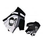 HQBC rukavice Cooler Wov Biogel bílo/černé