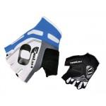 HQBC rukavice Cooler Wov Biogel bílo/modré