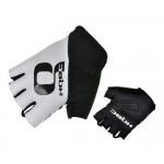 HQBC rukavice Q-Team Wov bílo/černé