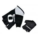 HQBC rukavice Q-Team Wov černo/bílé