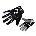 HQBC rukavice Rider černo/bílé