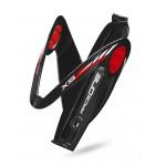 RACE ONE košík na láhev X5 - gel černo/červený