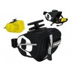 HQBC taška QR-XS TEX podsedlová 0,3L černá