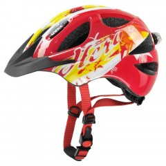 UVEX přilba 15 Hero red 49-55cm
