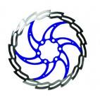 BARADINE Kotouč 160mm 6 děr IS modrý střed Baradine DB05D