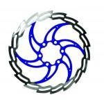 BARADINE Kotouč 180 mm 6 děr IS modrý střed Baradine DB05D
