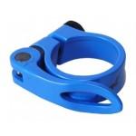 MRX objímka sedlovky AL 34,9 modrá RU
