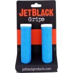 JETBLACK Grip Pro Lock-on modrá / bílá utahovací