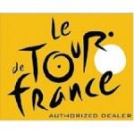 TOUR DE FRANCE NÁLEPKA 20x20cm