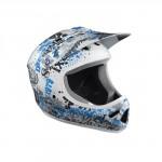 IXS Helma VECTOR 1 bílá / modrá