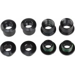 SRAM X01/DH Chainring Bolt Kit 4-arm Aluminum Black