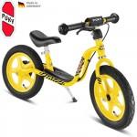 PUKY Odrážedlo s brzdou Learner Bike LR 1 BR - žlutá (tygr)
