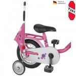 PUKY Bezpečnostní vlajka na koloběžky a kola růžová