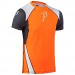 BJORN DAEHLIE triko Dry M kr.rukáv oranžovo/černo/bílé