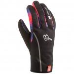 BJORN DAEHLIE rukavice Warmest M černo/modro/oranžové