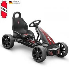 PUKY Dětská šlapací kára Go Cart Air F 550 černo/červená