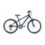 "LEADER FOX kolo 24"" 16 Spider boy black matt"