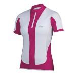 ETAPE dámský dres Fortuna, bílá/růžová