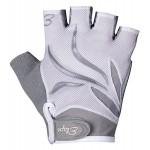 ETAPE dámské rukavice Annie, bílá/šedá