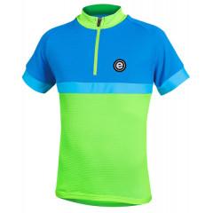 ETAPE dětský dres Bambino, zelená/modrá