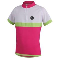 ETAPE dětský dres Bambino, růžová/bílá
