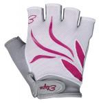 ETAPE dámské rukavice Annie, bílá/růžová