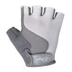 ETAPE dětské rukavice Simple, bílá/šedá