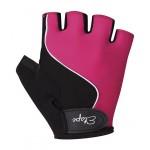 ETAPE dětské rukavice Simple, růžová/černá