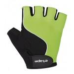 ETAPE dětské rukavice Simple, zelená/černá