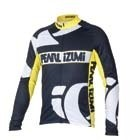 PEARL IZUMI dres Elite Thermal LS Jers. black/yellow