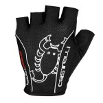 CASTELLI pánské rukavice Rosso Corsa Classic, černá