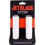 JETBLACK Grip Pro Lock-on bílá / černá utahovací