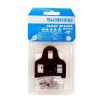 SHIMANO podložky pod kufry sada 1x 1mm + 2x 2mm