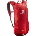 SALOMON batoh Trail 10 bright red/white