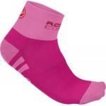 CASTELLI dámské ponožky Rosa Corsa, raspberry