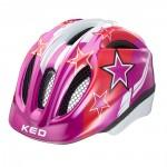 KED přilba 16 Meggy fialové hvězdy XS/44-49cm