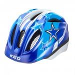 KED přilba 16 Meggy modré hvězdy M/52-58cm