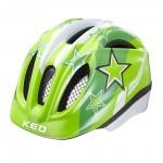 KED přilba 16 Meggy zelené hvězdy XS/44-49cm