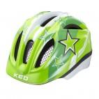 KED přilba 16 Meggy zelené hvězdy S/46-51cm