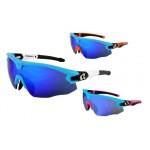 HQBC brýle Qert Plus modré 3 v 1