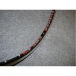 REMERX ráfek T303 622 GBS+2nýt 36D galuskový černý