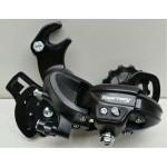 SHIMANO přehazovačka TX300 6/7mi s hákem černá