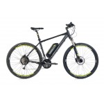 "LEADER FOX MTB 29"" 16 E-Swan 18"" black matt"