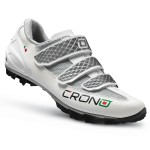 CRONO Tretry MTB Grimper white black