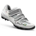 CRONO Tretry MTB Grimper white black