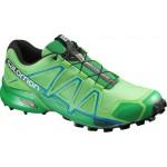 SALOMON boty Speedcross 4 peppermint/green/black